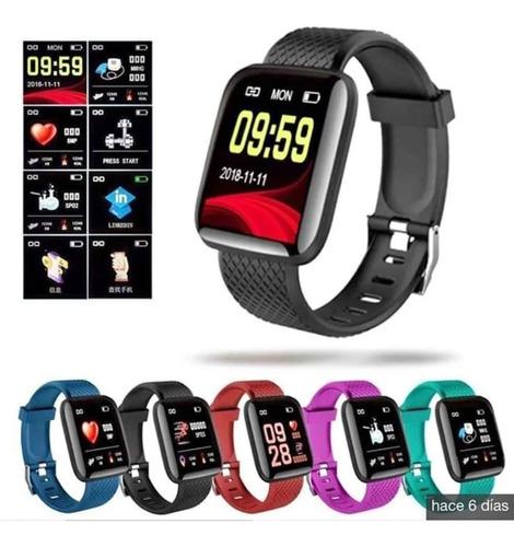 Reloj Smartwatch 116 Podómetro