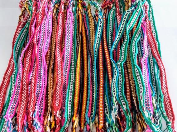 Pulseiras Coloridas Hippie Reggae - Kit 48 Unid. Sortidas