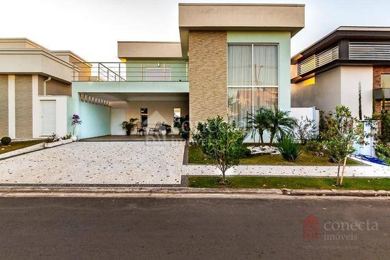 Casa Residencial À Venda, Condomínio Villa Bella Livorno, Paulínia. - Ca1079