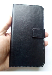 Capa Carteira Samsung Galaxy J7 Pro J730 Preta Impacto