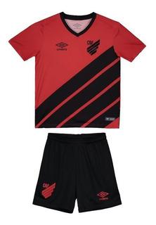 Kit Umbro Athletico Paranaense I 2019 Infantil
