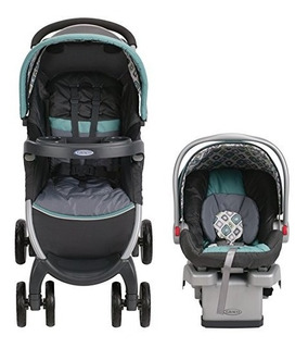 Coche Graco Fastaction Fold Click Connect Travel System