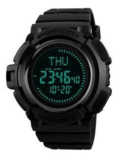 Reloj Hombre Skmei 1300 Brujula Tactico Alarma Sumergible