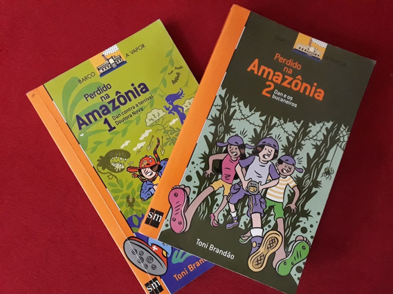Perdidos Na Amazônia 1 E 2 - Barco A Vapor - Toni Brandão