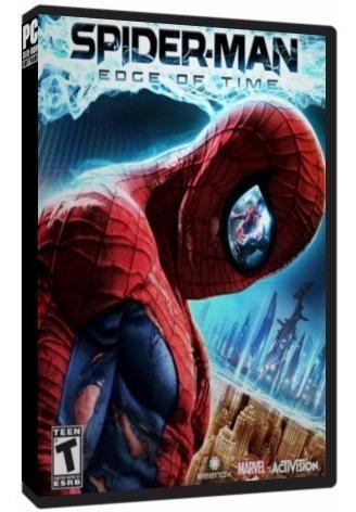 Spider-man Edge Of Time Pc Dvd Mídia Física - Frete 8 Reais