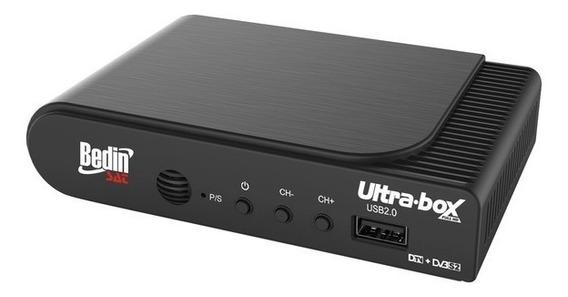 Receptor Parábolica E Conversor Digital Hd Ultrabox Bedinsat