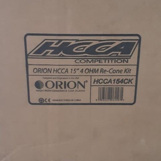 Bajos Orion Hcca 15 Pulgadas Kicker Pioneer Status Danom