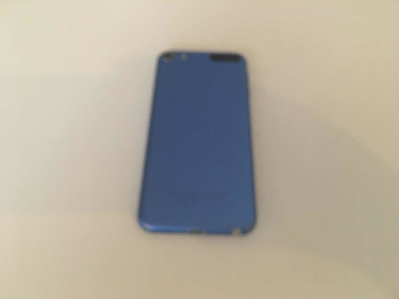 iPod Touch De Sexta Geração Azul Usado Dois Anos E 2 Meses