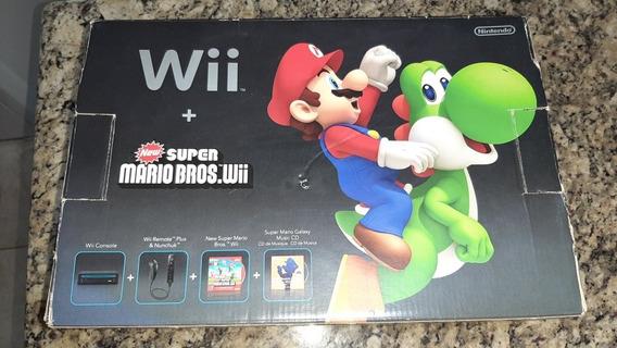 Nintendo Wii Com Caixa