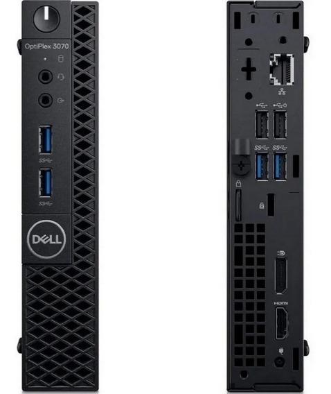 Pc Dell Optiplex 3070 Mini Core I3 9100t 8gb Ddr4 Ssd 480gb