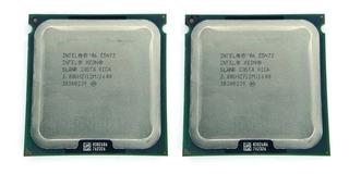 Par Identico Cpu Intel Xeon E5472 Pareadas 3.0ghz 8 Nucleos