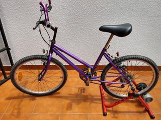 Bicicleta Con Cambios Rodado 24 Mountain Bike