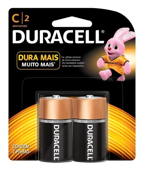 Pilha C Duracell