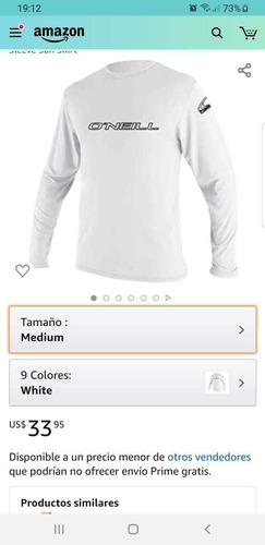 Camiseta Uv O'neill Importada