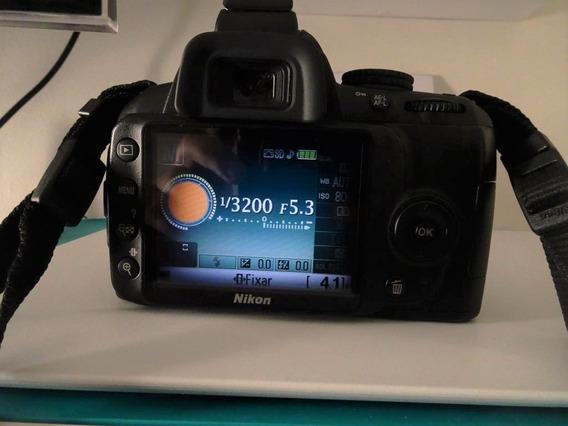 Câmera Nikon D3000 Completa