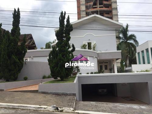 Casa Com 6 Dormitórios À Venda, 530 M² Por R$ 2.980.000,00 - Jardim Aquarius - São José Dos Campos/sp - Ca5162