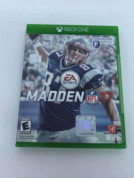 Combo Pes 2018 Com Nfl Madden 17 Xbox One