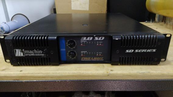 Amplificador De Potência Machine 3.8 Sd Pro Light
