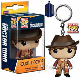 Pocket Pop Fourth Doctor Funko Doctor Who Funko Keychain