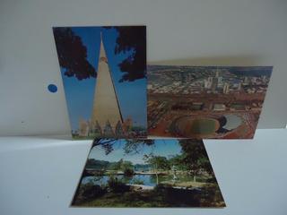 Lote - Maringá (paraná) 3 Cartões Postais