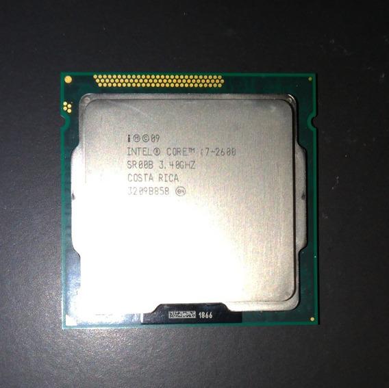 Processador Intel Core I7 2600 + Memórias Ddr3 Leia