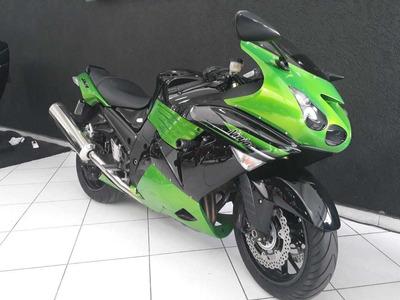 Kawasaki Zx14 2011 Verde
