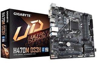 Placa Base -gigabyte H470m Ds3h - 1.0
