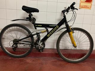 Bicicleta Mountain Bike Marca Wonder En Excelente Estado!