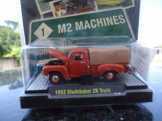 Pick Up Studebaker 2r Ano 1952 Escala 1;64