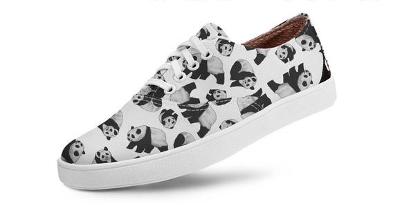 Tênis Casual Volare Vegano Panda Usthemp