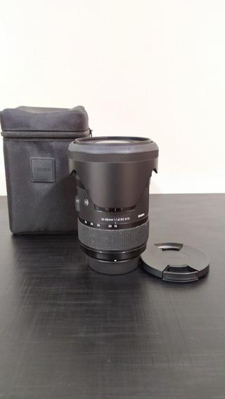 Lente Sigma Art 18-35mm 1.8 Para Nikon