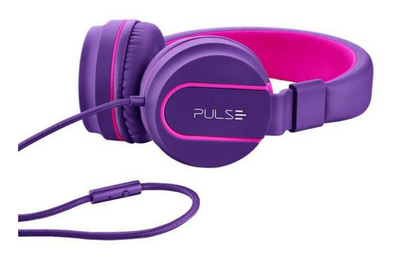Fone De Ouvido Headphone On Ear Stereo - Pulse - Ph161