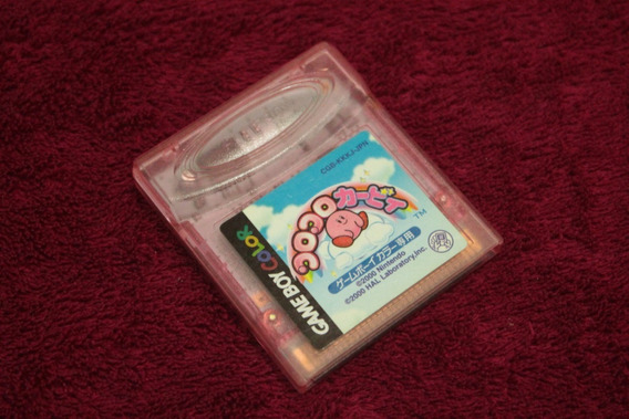 Kirby Tilt N Tumble Original Japones Para Game Boy Color Gba