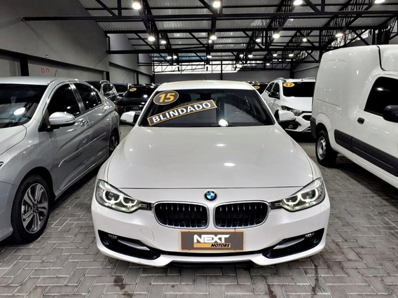 Bmw 320i 16v Turbo Blindada Vidros B33 Super Conservada