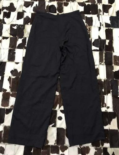Pantalon Tipo Palazzo Negro Armani Original T 11 M Usado Mercado Libre