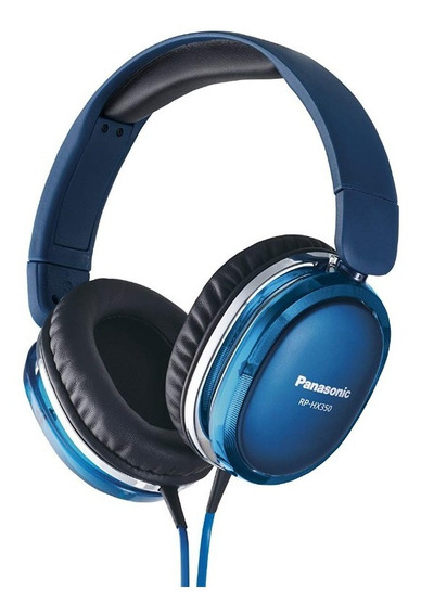 Fone De Ouvido Panasonic Rp-hx550-b Blue