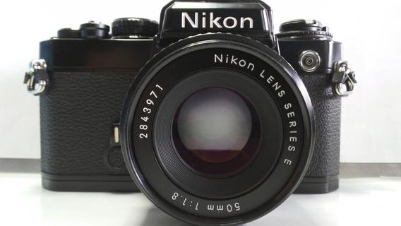 Nikon Fe Kit 50mm 1:1.8 Series E