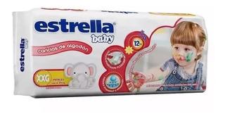 Estrella Baby Xxg Hiperpack X 34 Pañales Farmaservis