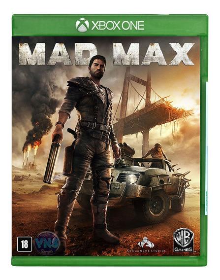 Mad Max - Xbox One - Mídia Física - Leg Português - Novo