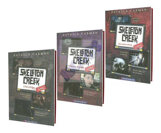 Coleção Skeleton Creek Literatura Infanto Juvenil Suspense