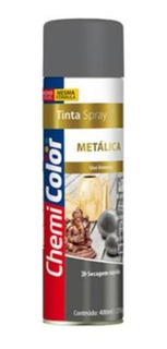 Tinta Spray Metalica Prata 350ml