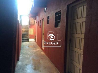 Casa Com 5 Dormitórios À Venda, 250 M² Por R$ 580.000 - Jardim Utinga - Santo André/sp - Ca0820