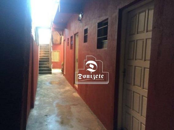 Casa Com 5 Dormitórios À Venda, 250 M² Por R$ 579.000,00 - Jardim Utinga - Santo André/sp - Ca0820