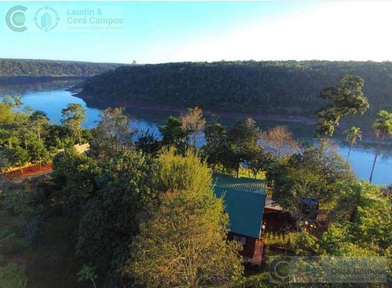 Se Vende Casa Quinta Sobre El Rio, Iguazú Misiones.