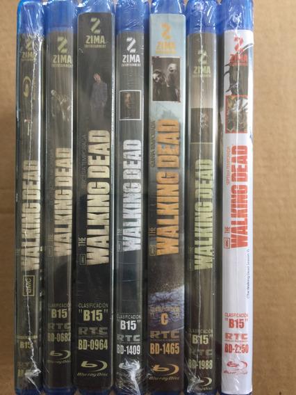 The Walking Dead Temporadas 1 A La 7 Nueva Sellada Envio Gra