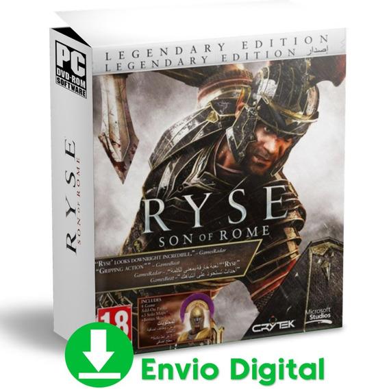 Ryse Pc Son Of Rome Legendary Edition Envio Agora 2019