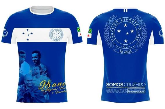 Camiseta Cruzeiro 98 Anos