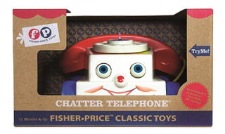 Fisher Price Toy Story Teléfono Retro Chatter Phone