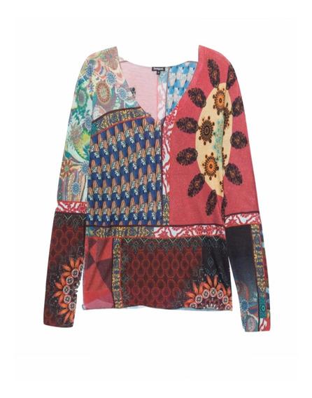 Suéter Desigual Mujer Colorido