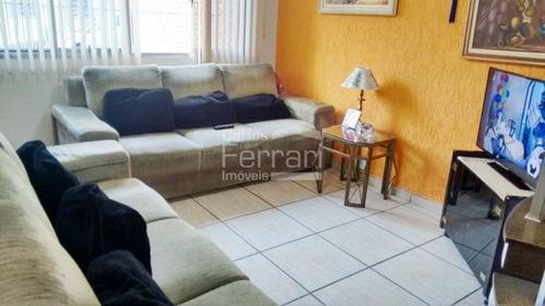 Imagem 1 de 15 de Sobrado 3 Dormitórios, 1 Suite,2 Vagas No Jardim São Paulo. - Cf33704